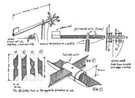 a simpler life el pocito drawing windmill