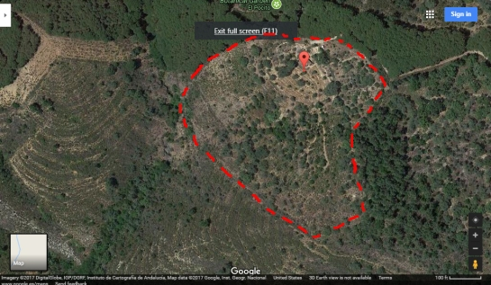 a simpler life el pocito google sateliite map