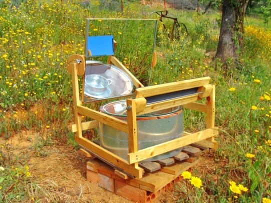 a simpler life el pocito solar water heater oven 16
