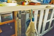 a simpler life el pocito van conversion interior cupboards
