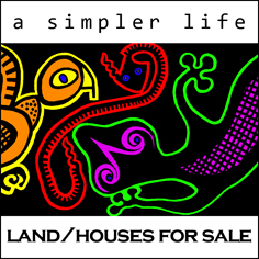 a simpler life, el pocito, land and houses for sale