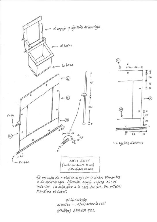 a simpler life el pocito drawing solar oven 01